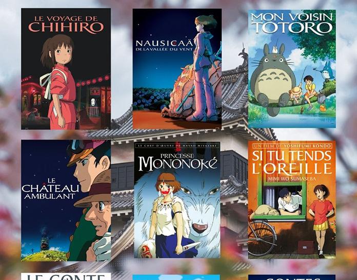 Les films du Studio Ghibli VoD sur Médiathèque Numérique !