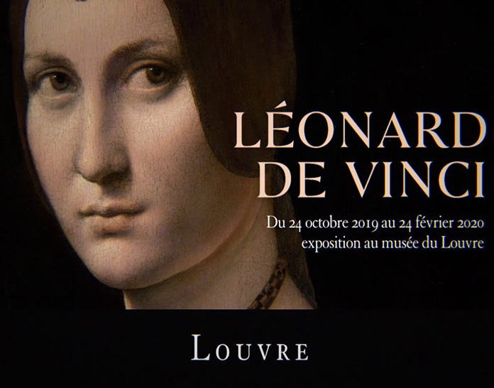 photo exposition Léonard de Vinci